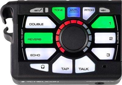 【成功樂器 . 音響】TC-Helicon PERFORM-V 站立式 人聲 Vocal 效果器 可結合麥克風架