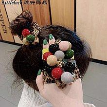 流行飾品正韓頭繩手錬兩用高彈力橡皮筋髮繩頭飾可愛簡約網紅扎頭髮圈耐用