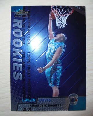 1999-00 Topps Finest RC Rookie 新人卡 Baron Davis