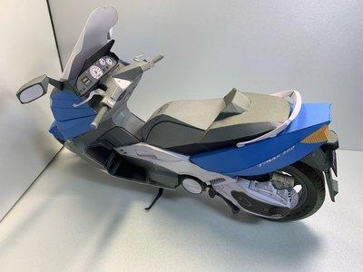 紙模型 重型機車 附安全帽 Yamaha TMAX仿真 紙紮 成品 現貨