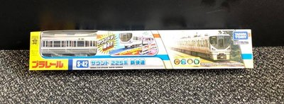 【G&T】純日貨 多美 Plarail 鐵道王國火車 S-42 JR 西日本 225系 新快速 電聯車 876946