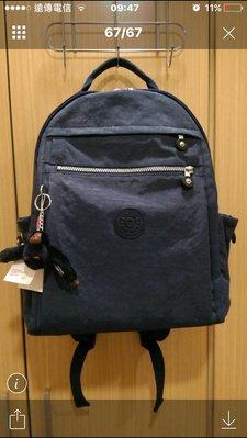 【全新正貨私家珍藏】Kipling K179P (K3914)女包中号拉鏈雙肩包背包