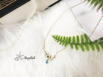 【海星 Starfish】水星之戀絕美藍鑽項鍊