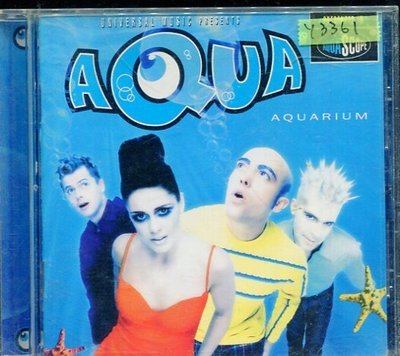 *還有唱片行* AQUA / AQUARIUM 二手 Y3361