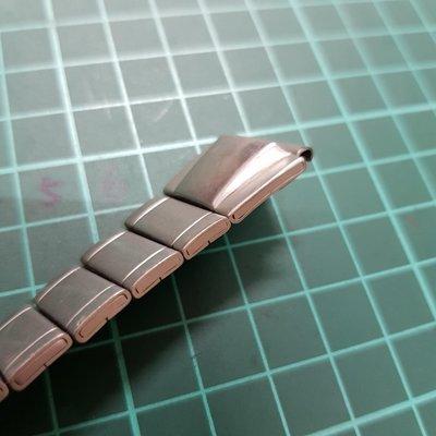 16mm 高級 特殊 立體 錶帶 非  SEIKO MK IWC CK G4 TELUX CITIZEN ORIENT 機械錶 石英錶