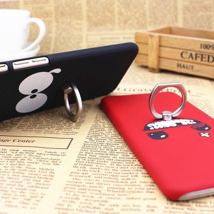 華為 榮耀8手機殼 卡通指環支架 榮耀8手機套 保護套磨砂男女硬殼充電器保護線耳機繞線器