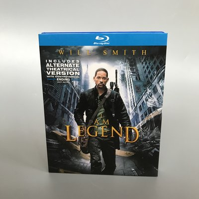 威爾·史密斯 我是傳奇 I Am Legend 藍光BD高清電影碟片完整收藏