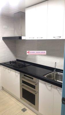 食尚廚具-220cm韓國人造石廚具
