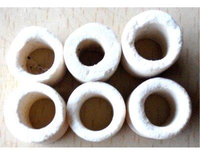 多孔陶瓷環   陶瓷杯 多孔性 陶瓷環 呼吸生物環 淨水 細菌屋 過濾 培菌