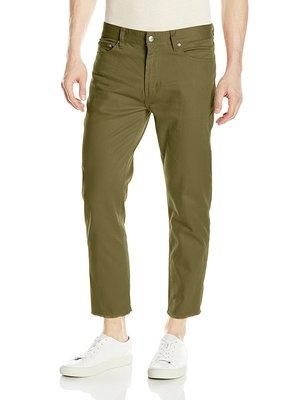 OBEY New Threat 九分褲 五口袋彈力斜紋褲 合身直筒  32腰  軍綠色 正品