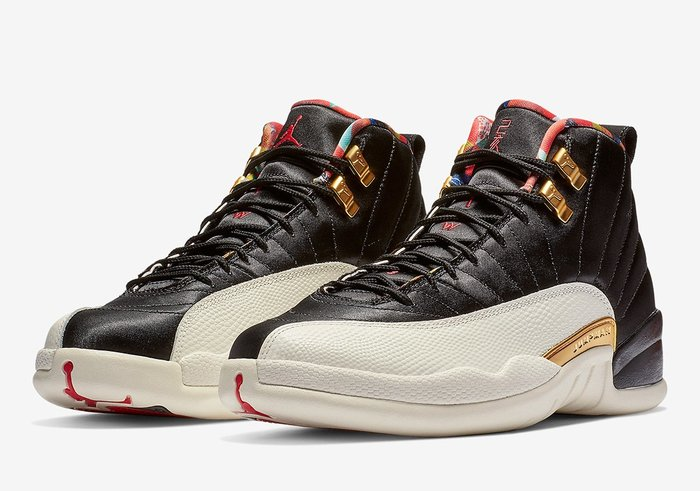"沃皮斯§ Air Jordan 12 ""Chinese New Year"" CI2977-006 己亥 中國年"