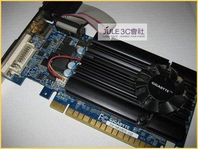 JULE 3C會社-技嘉 GV-N610D3-1GI GT610 晶片/DDR3/1GB/PhysX/CUDA/鍍金HDMI/短卡/保內/PCI-E 顯示卡