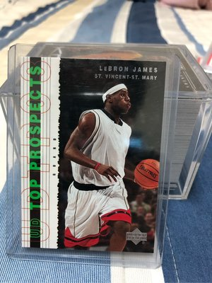 03 Top Prospects Lebron James 新人卡3