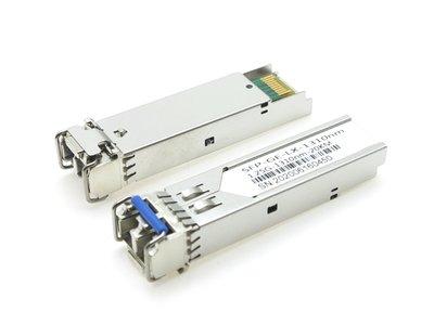 萬赫 現貨SFP-GE-LX 1310nm SMF 20km GBIC 光纖模塊 單模雙工 1.25G 單模模塊 光纖材