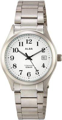 日本正版 SEIKO 精工 ALBA AQGJ407 手錶 男錶 日本代購