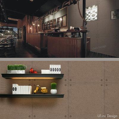 清水模壁紙 美式風格 復古流行 客廳 電視牆 沙發牆 餐廳 咖啡廳 早午餐 酒吧 室內設計 居家裝潢 loft工業 壁紙