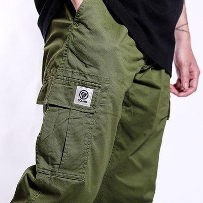 【車庫服飾】SQUAD 2019 A/W Pocket Work Pants 長褲 小標口袋工作長褲