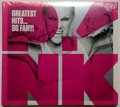 全新未拆 紅粉佳人Pink / 粉紅派對-極酷精選 greatest hits...so far! / 美版