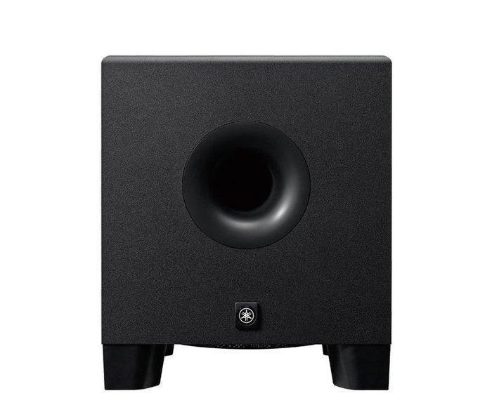 高傳真音響【 HS8S 】8吋主動式超低音監聽喇叭│錄音室 監聽 專業設備│YAMAHA
