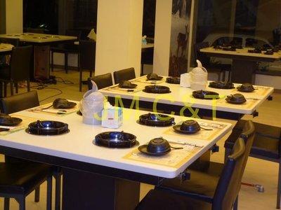 【JM C&T】全尺寸訂製小火鍋桌/個人石頭火鍋/涮涮鍋/小瓦斯爐型