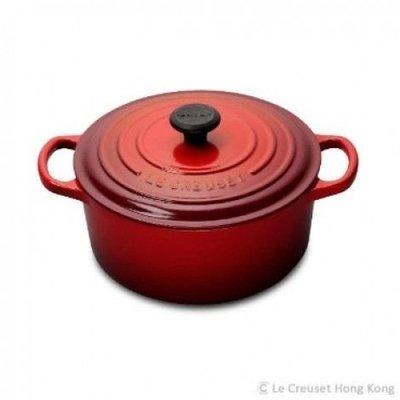 【賤賣】100% new LE CREUSET 圓形琺瑯鑄鐵鍋 20cm