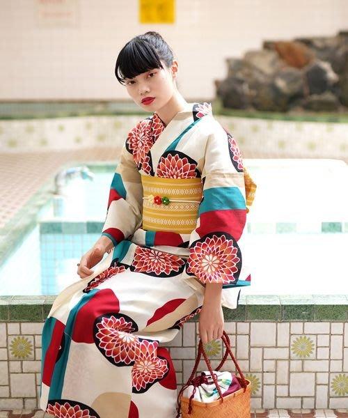 01日本全棉和服浴衣 古典花色