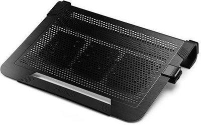【也店家族 】_ 酷媽 Cooler Master Notepal U3 PLUS 全鋁散熱墊- 三風扇 黑色銀色