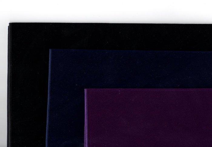 【牌的世界】絨布占卜方巾-桌巾(75X60公分)深藍深紫純黑三款