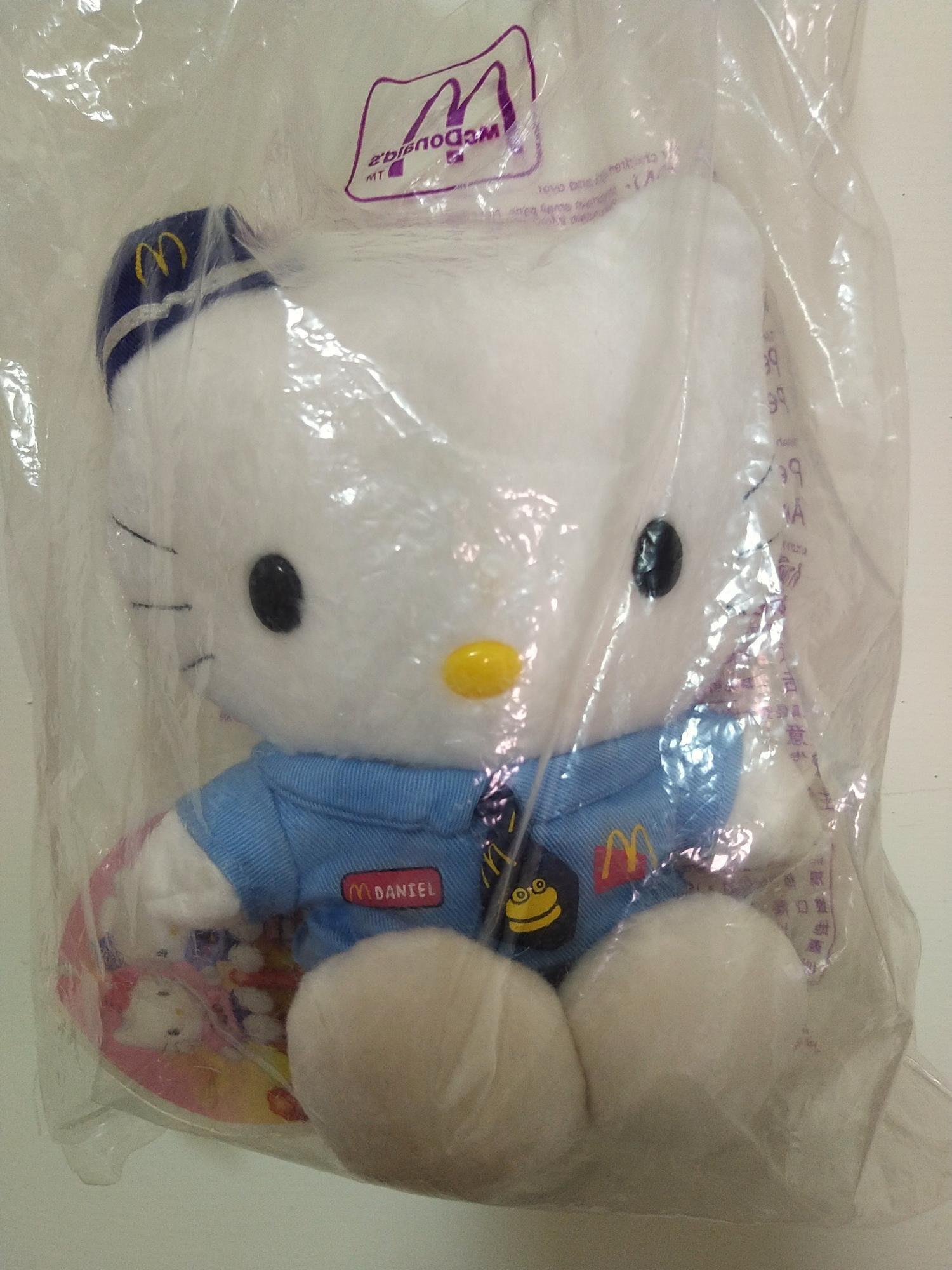 麥當勞經典絕版hello kitty第一代 民國88年-麥當勞-絕版贈品-KITTY貓-老玩具