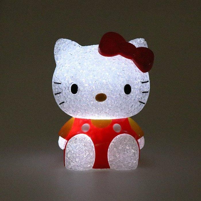 41+ 現貨 免運費 氣氛佳 情人節 KITTY 公仔造型 電池式 夜燈 照明 燈 日本帶回 特價商品 小日尼三