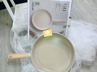 [現貨] 韓國直進 大廠 Neoflam Fika 牛奶鍋系列 24cm 平底煎鍋  IH 瓦斯爐 可使用