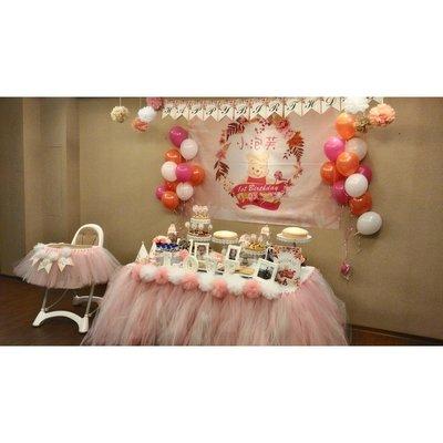 **蕾絲公主**客製化寶寶周歲主題生日派對(到府佈置)完美呈現~~佈置優惠價格意者可私訊蕾絲公主歐~~