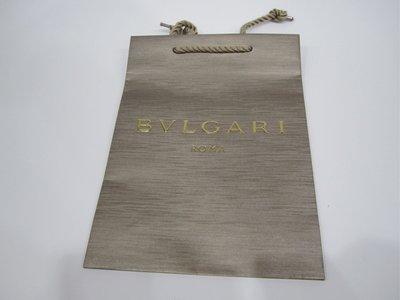 (專櫃紙袋)BVLGARI BURBERRY 不分尺寸 一個NT $200