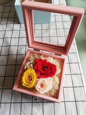 送禮必備 保鮮花首飾盒特別款
