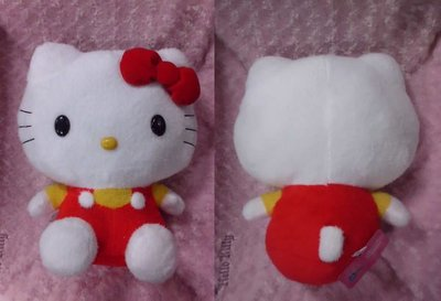 GIFT41 土城店 景品 Hello Kitty 凱蒂貓 紅衣 42CM 絨毛娃娃 (全1種) 1003966