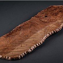 【古珍品】日本茶道具 瘿木天然隨形敷板-3 (可作為茶盤、香爐台、花台、擺件)