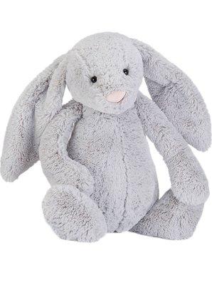 (預購)英國 JELLY CAT Bashful plush silver bunny huge 51cm