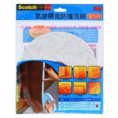 3M 6602 室內用氣密隔音防撞泡棉  白 隔音 防蟲 防冷氣外漏