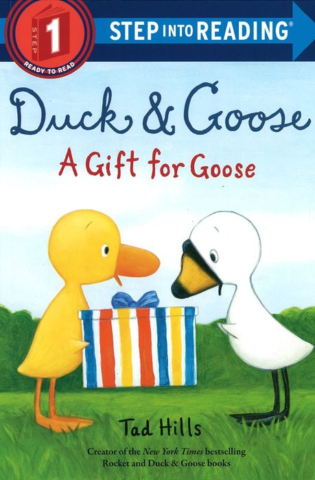 *小貝比的家*STP DUCK AND GOOSE A GIFT FOR GOOSE/L1/平裝/3~6歲