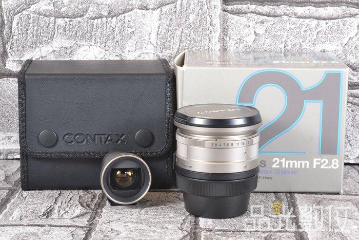 【品光攝影】CONTAX Biogon T* 21mm F2.8 Carl Zeiss 含取景器 HB#78851