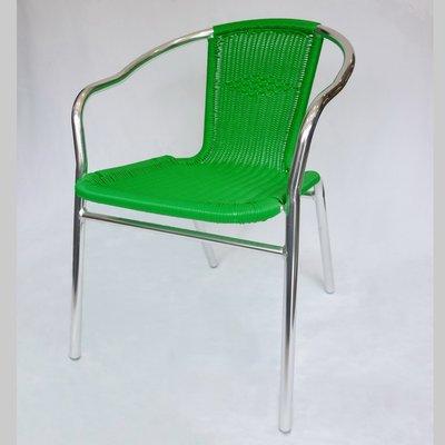 【在地人傢俱】17 陽光購-翠綠/墨綠色藤編椅/戶外庭院休閒椅/餐椅 LBC U-1011