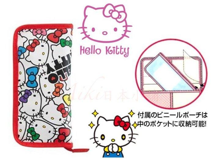 *Miki日本小舖*日本三麗鷗Hello Kitty 凱蒂貓 餐具收納包/外出餐具收納包