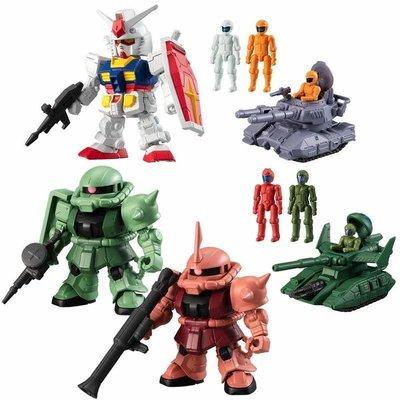 Bandai Mobile Suit Gundam Micro Wars 1 微戰爭 高達盒蛋 食玩 RX-78-2 zaku II 紅彗星 渣古