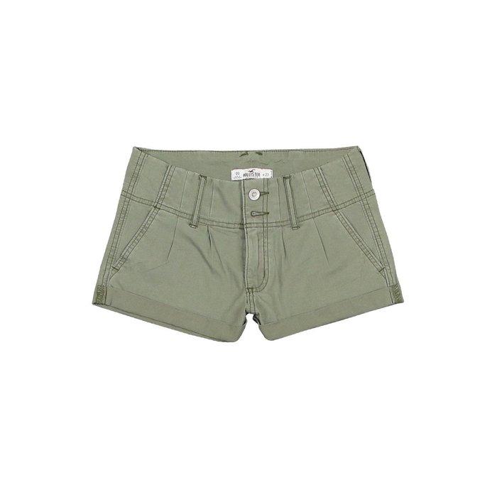 【HOLLISTER Co.】【HCO】HC女款短褲雙扣打折軍綠 F07150701-11