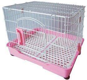 。╮♥寶貝咪嚕的家♥╭。2尺日式豪華寵物籠(粉紅色/ 咖啡色)狗/ 貓/ 兔都適用 台南市