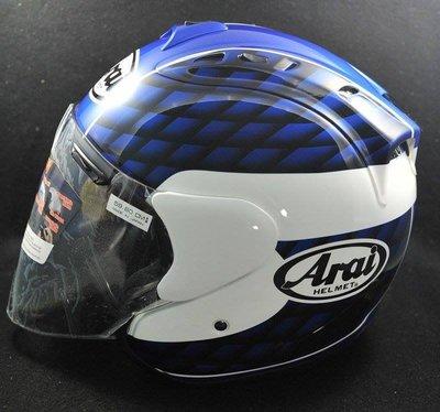 【魔速安全帽】ARAI  SZ-RAM4 TAIRA BLUE 半罩 貓耳帽 安全帽 平忠彥限量版 藍色 R帽