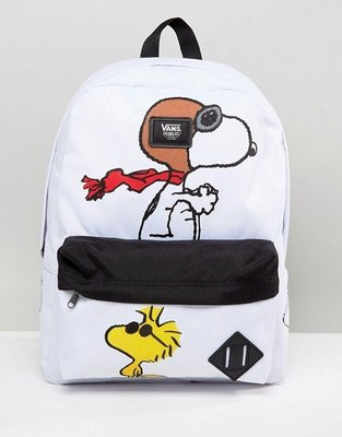代購 Vans X Peanuts Old Skool Backpack 史奴比後背包