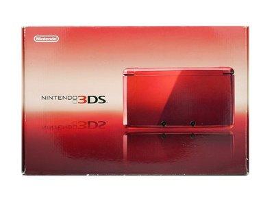 【二手主機】任天堂 Nintendo 3DS N3DS 紅色主機 附充電器【台中恐龍電玩】
