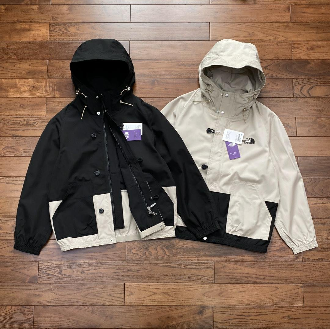 MONKEY TIME x The North Face北面 20SS TNF紫標聯名衝鋒衣夾克風衣