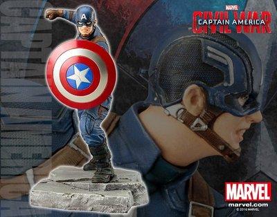 壽屋 1/10 ARTFX+ Marvel 美國隊長3 內戰:美國隊長